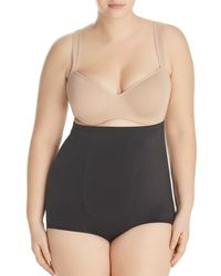 Tc Fine Intimates - Plus Wonderful Edge Hi-waist Briefs - Lyst