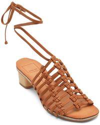 Dolce Vita - Women's Leather Gladiator Sandals - Lyst