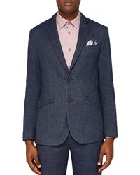 Ted Baker - Beek Semi Plain Regular Fit Suit Jacket - Lyst