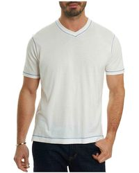 Robert Graham - Traveller V-neck Tee - Lyst