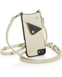 Bandolier - Sarah Studded Leather Iphone Crossbody - Lyst