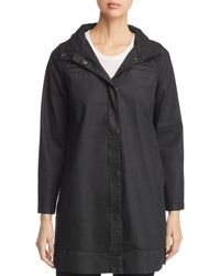 Eileen Fisher - Coated A-line Jacket - Lyst