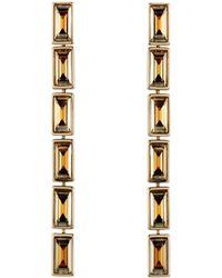 Atelier Swarovski - Fluid Linear Drop Earrings - Lyst