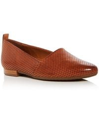 Paul Green - Women's Perry Perforated Leather Flats - Lyst