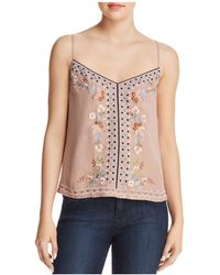 French Connection - Embroidered Cami - Lyst