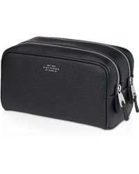 Smythson - Burlington Small Wash Bag - Lyst