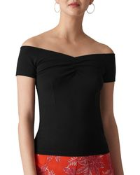 Whistles - Off-the-shoulder Top - Lyst
