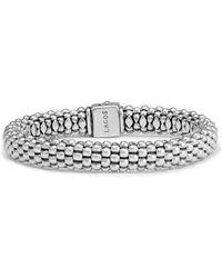 Lagos - Caviar Oval Rope Bracelet - Lyst