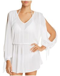 SOLUNA - Solid Dress Swim Cover-up - Lyst