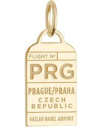 Jet Set Candy - Czech Republic Prg Luggage Tag Charm - Lyst