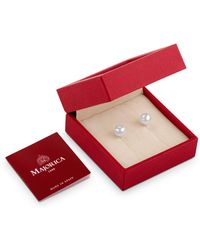 Majorica | Simulated Pearl Earrings Gift Box | Lyst