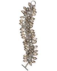 ABS By Allen Schwartz - Smoky Cluster Bracelet - Lyst