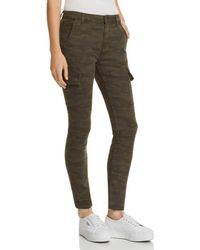 Joe's Jeans - Charlie Ankle Cargo Skinny Jeans In Camo - Lyst