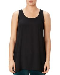 Spanx - Perfect Length Top Chiffon Tank - Lyst