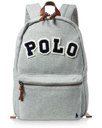 Lyst - Polo Ralph Lauren Men s Big Pony Canvas Backpack in Blue for Men c7829f8568e88