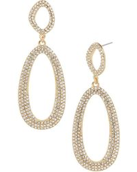 BaubleBar - Daviana Double Loop Drop Earrings - Lyst