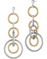Alor - Cable Drop Earrings - Lyst
