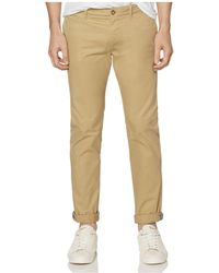 Original Penguin - P55 Slim Fit Stretch Chinos - Lyst