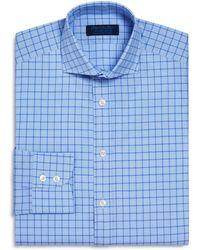Hilditch & Key - Windowpane Check Regular Fit Dress Shirt - Lyst