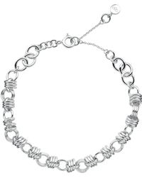 Links of London - Sterling Silver Sweetie Extra Small Charm Chain Bracelet - Lyst