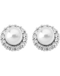 Majorica - Stud Earrings - Lyst
