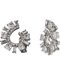 Carolee | Front-back Spiral Clip-on Earrings | Lyst