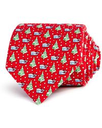 Vineyard Vines - Christmas Whale Classic Tie - Lyst