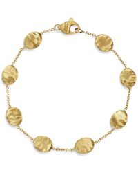 Marco Bicego - 18k Yellow Gold Single Strand Bracelet - Lyst