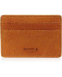 Shinola - Latigo Leather Id Card Case - Lyst