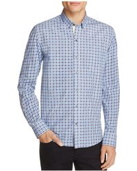 W.r.k. - Check Slim Fit Button-down Shirt - Lyst