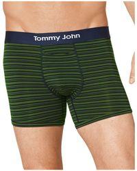 Tommy John | Cool Cotton Mitch Stitch Boxer Brief | Lyst