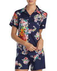 Ralph Lauren - Lauren Seaside Classic Short Pajama Set - Lyst