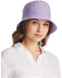Aqua - Ribbon Bucket Hat - Lyst