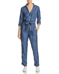 Mkt Studio - Oura Chambray Jumpsuit - Lyst
