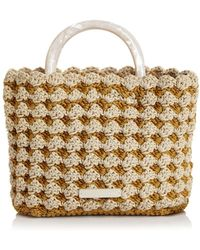 Loeffler Randall - Audrey Small Woven Tote - Lyst
