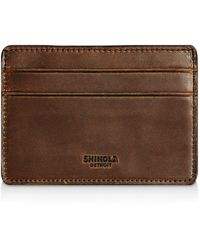 Shinola - Distressed Card Case - Lyst