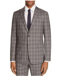 Theory - Wellar Tonal Check Plaid Slim Fit Suit Jacket - Lyst