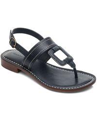 Bernardo - Tegan T-strap Slingback Sandals - Lyst