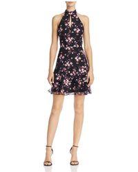 Parker - Luana Floral-embroidered Tiered-hem Dress - Lyst 9f95fb5b1