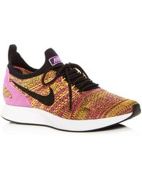 Nike - Women s Air Zoom Mariah Fk Racer Knit Lace Up Sneakers - Lyst 703fe015c