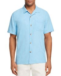 Tommy Bahama - Al Fresco Tropics Short - Sleeve Classic Fit Jacquard Shirt - Lyst