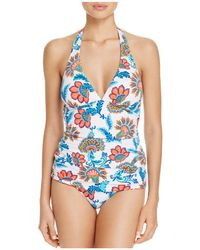 Tommy Bahama - Fira Reversible Long Halter Bikini Top - Lyst