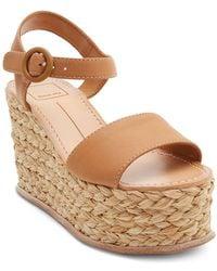 Dolce Vita - Women's Dane Espadrille Platform Wedge Sandals - Lyst
