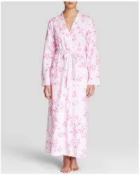 Carole Hochman - Graphite Flowers Long Robe - Lyst