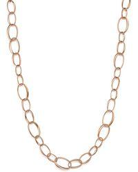 Pomellato - Catene Necklace In 18k Rose Gold - Lyst