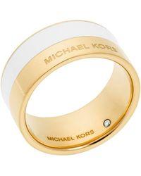 Michael Kors - Colour Block Ring - Lyst