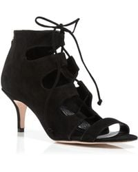 Delman - Tryst Suede Ankle Boots - Lyst