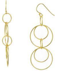 Argento Vivo - Orbital Drop Earrings - Lyst