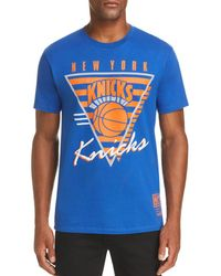 Mitchell & Ness - Final Seconds Knicks Graphic Tee - Lyst