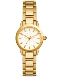 Tory Burch - Gigi Watch, Gold-tone/ivory, 28 Mm - Lyst